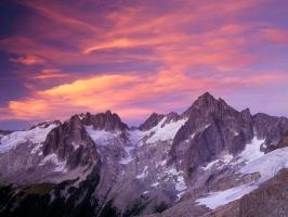 Clouds Over Sunset Washington