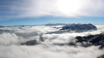Cloudy Mountains 4K 5K