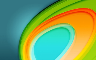 Colorful Circles 4K 5K