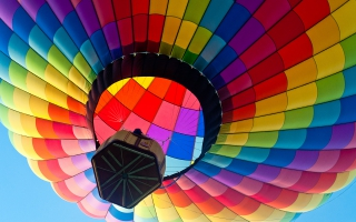 Colorful Hot Air Blloon