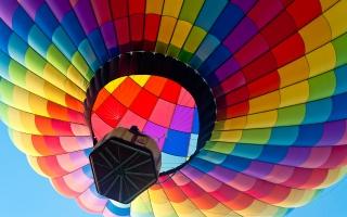Colorful Hot Air Blloon