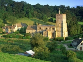 Cotswold Hills Wallpaper England World