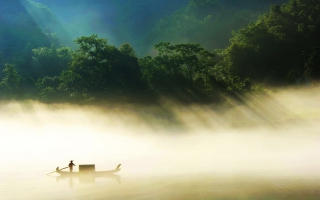 Countryside Fisherman