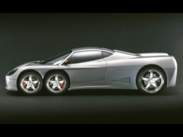 Covini C6W Side View Wallpaper Concept Cars