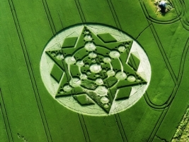 Crop Circle Wallpaper Other Nature