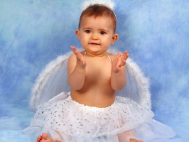 Cute Angel Baby Girl