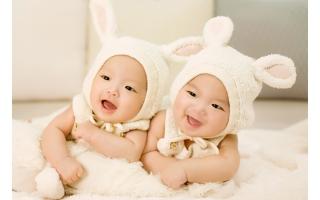 Cute Twin Babies