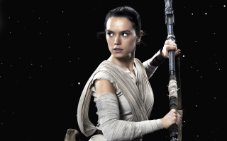Daisy Ridley Rey Star Wars The Force Awakens
