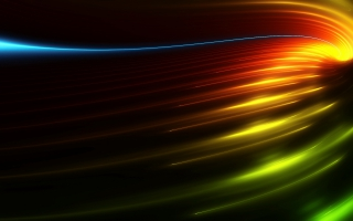 Dark Colorful Abstract Wide Screen