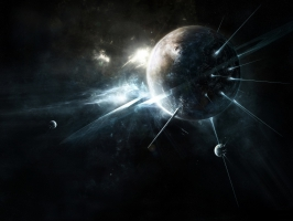 Dark Space  Abstract