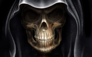 Demon Alien Devil Skull