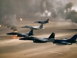 Desert Storm Wallpaper Military Aircrafts Planes