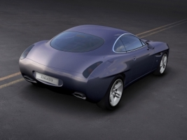 Diatto by Zagato Dark Blue Wallpaper Concept Cars