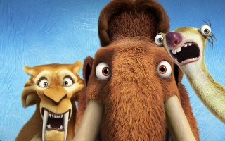 Diego Manny Scrat Ice Age Collision Course