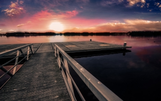 Dock Sunset