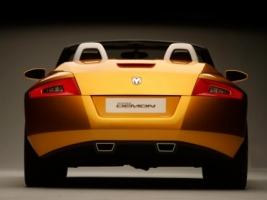 Dodge Demon Roadster Back Wallpaper Concept Cars