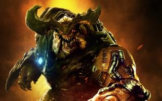 Doom 2016 Cyberdemon Monster