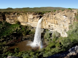 Doorn River Waterfall Wallpaper South Africa World