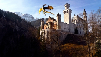 Dragon & Castle