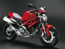 Ducati Monster 696 Red