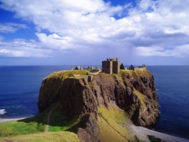 Dunnottar Castle Wallpaper Scotland World