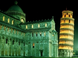 Duomo and Leaning Tower Wallpaper Italy World