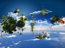 Ecosystem Wallpaper Abstract 3D