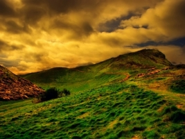 Edinburgh Wallpaper Landscape Nature