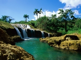 El Nicho Falls Wallpaper Waterfalls Nature
