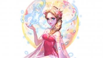 Elsa Artwork Disney Frozen
