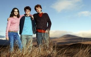 Emma Watson Daniel Radcliffe & Rupert Grint