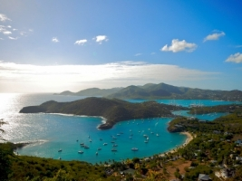 English Harbour Wallpaper Caribbean Islands World