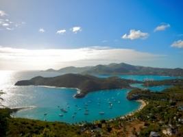 English Harbour Wallpaper Caribbean Islands World