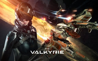 EVE Valkyrie Game 4K