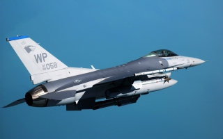 F 16 Fighting Falcon at Kunsan Air Base