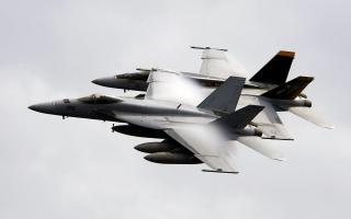 FA 18E Super Hornets