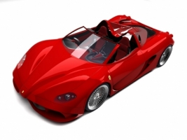 Ferrari Aurea Spider Red Wallpaper Ferrari Cars