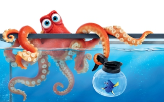 Finding Dory Hank Octopus