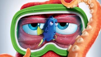 Finding Dory Hank Octopus Nemo 4K