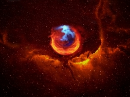 Firefox nebula Wallpaper Firefox Computers