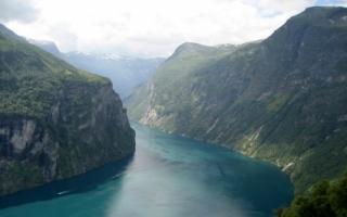 Fjord Wallpaper Landscape Nature
