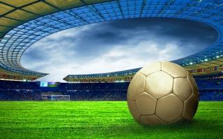 Football & Stadium