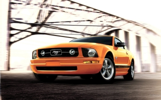 Ford Mustang Yellow