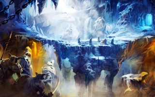Frozen Cave in Trine 2