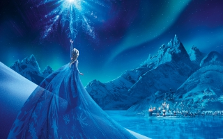 Frozen Elsa Snow Queen Palace