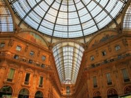 Galleria Vittorio Emanuele II Wallpaper Italy World