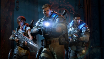 Gears of War 4 JD Fenix Kait Diaz Delmont Walker