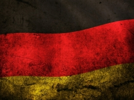 German Grunge Flag Wallpaper Germany World