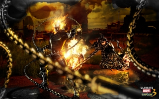 Ghost Rider Marvel Vs Capcom