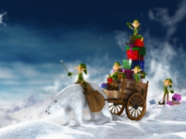 Gifts for Christmas Wallpaper Christmas Holidays